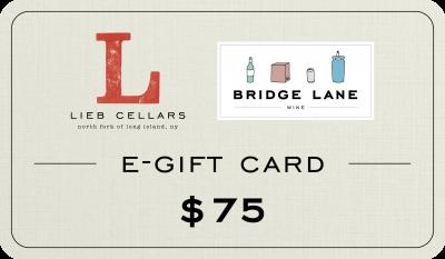 $75 E-Gift Cards